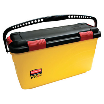 RUBBERMAID COMMERCIAL PROD. HYGEN Charging Bucket, Yellow (3 CT/EA)