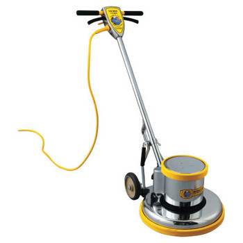 "MERCURY FLOOR MACHINES PRO-175-17 Floor Machine, 1.5 HP, 175 RPM, 16"" Brush Diameter (1 EA/EA)"