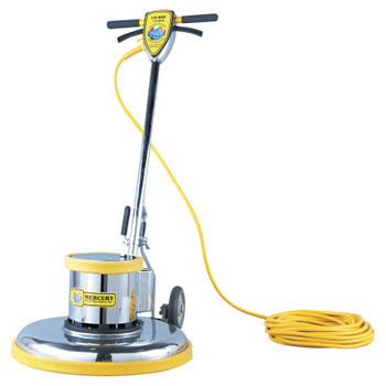 "MERCURY FLOOR MACHINES PRO-175-21 Floor Machine, 1.5 HP, 175 RPM, 20"" Brush Diameter (1 EA/EA)"