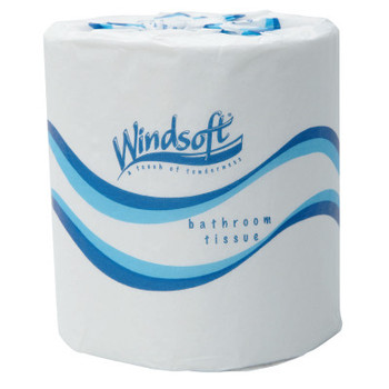 Windsoft Embossed Bath Tissue, 2-Ply, 500 Sheets/Roll (48 CT/EA)