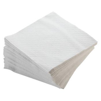 MORCON Dinner Napkins, 1-Ply, 17 x 17, White, 250/Pack (1 CT/BX)