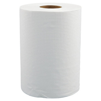 """MORCON Hardwound Roll Towels, 8"""" x 350ft, White (12 CT/EA)"""
