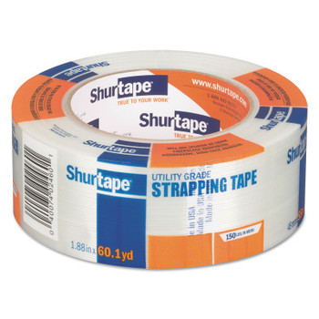 Shurtape GS 500 Tapes, 1.88 in x 55 m, 5 mil, Clear, 24/Case (24 CA/EA)