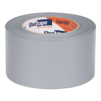 Shurtape PC 460 ShurGrip Utility Duct Tapes, 72 mm x 55 M x 6 mil, Silver (16 CA/CT)