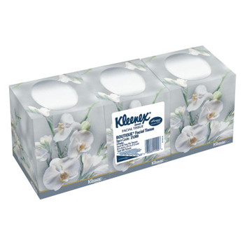 Kimberly-Clark Professional Facial Tissue, 2-Ply, Pop-Up Box, 3 Boxes/Pack (12 CT/EA)