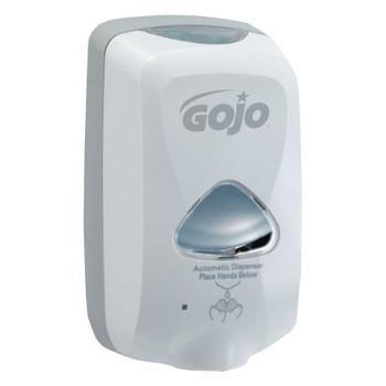 Gojo TFX Foam Soap Dispenser, 1200ml, 4 1/10w x 6d x 10 3/5h, Gray (12 CT/EA)