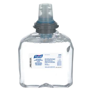 Gojo Advanced TFX Foam Instant Hand Sanitizer Refill, 1200mL, White (2 CT/EA)