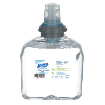 Gojo Instant Hand Sanitizer Nourishing Foam, 1200mL Refill (2 CT/EA)