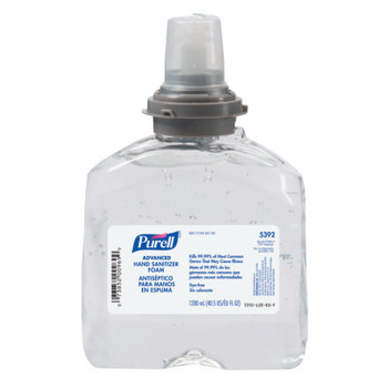 Gojo Advanced TFX Gel Instant Hand Sanitizer Refill, 1200mL (4 CT/EA)