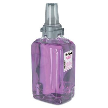 Gojo Antibacterial Foam Handwash, Refill, Plum, 1250mL Refill (3 CT/EA)