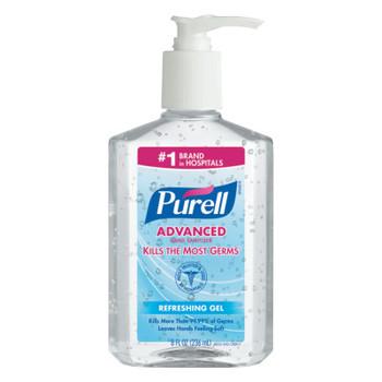 Gojo Advanced Instant Hand Sanitizer, 8oz Pump Bottle (12 EA/EA)