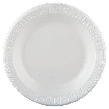 Dart Container Corp. Quiet Classic Laminated Dinnerware, 10 1/4 in, White (500 CA/EA)