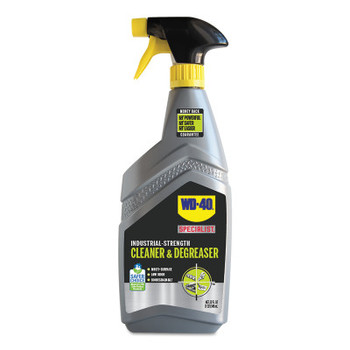 WD-40 Specialist Industrial-Strength Cleaner & Degreaser, 32 oz, Trigger Spray Bottle, Unscented (6 EA/EA)