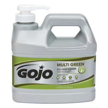 Gojo Multi Green ECO Hand Cleaner, Citrus, 64 oz Bottle (4 CA/EA)
