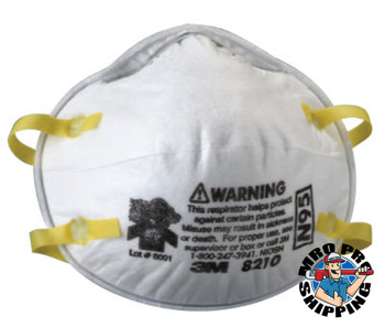 3M N95 Particulate Respirators, Half Facepiece, Fiter, One Size (20 EA)