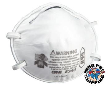 3M R95 Particulate Respirators, Half Facepiece, Oil/non-oil particles (1 BX)