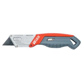 Apex Tool Group Quick-Change Folding Blade Utility Knives, Black (1 EA/EA)