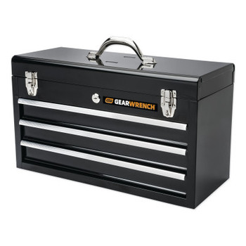 "Apex Tool Group 20"" 3 Drawer Black Steel Tool Box (1 EA/EA)"