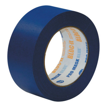 Intertape Polymer Group UV-Resistant Specialty Paper Masking Tapes, 1.88 in x 60 yd, 5.5 mil, Blue (1 RL/EA)