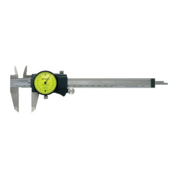 Mitutoyo Series 505 Dial Calipers, 0 in - 6 in (1 EA/EA)