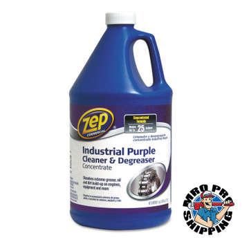 Zep Inc. Industrial Cleaner and Degreaser Concentrates, 1 gal Can, Characteristic Scent (4 CA/KIT)