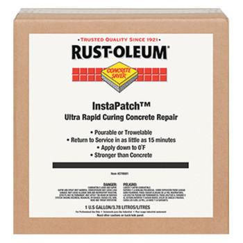 Rust-Oleum Industrial Concrete Saver InstaPatch Concrete Repair Compounds, 16 oz, Gray, 4/case (1 EA/EA)