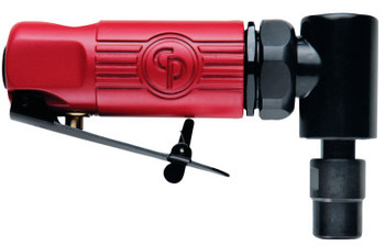 Chicago Pneumatic Angle Die Grinders, 1/4 in (NPTF), 22,500 rpm, 0.3 hp (1 EA)