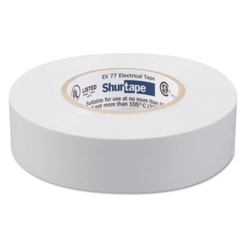 Shurtape EV 77 Professional Grade Electrical Tapes, 66 ft x 3/4 in, Gray, 100/case (100 CA/EA)