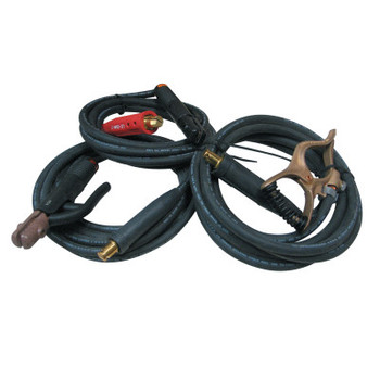 Best Welds Welding Cable Assembly, 15 ft, 4 AWG, Best Welds Lenco, w/Clamp/Connector (1 KT/EA)