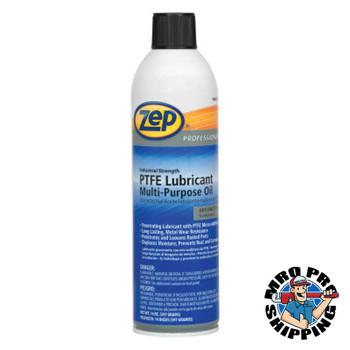 Zep Inc. PTFE Lubricant Multi-Purpose Oil, 20 oz Aerosol Can (12 CA/EA)