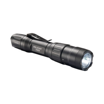 Pelican Tactical LED Flashlights, 1 Battery, 18,650, 37 lm (Low)/944 lm (High) (6 CA/EA)