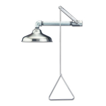 Guardian Emergency Showers, 10 in Dia, 30 GPM, Stainless Steel (1 EA/EA)