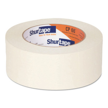 Shurtape Contractor Grade High Adhesion Masking Tapes CP66, 48 mm x 55 m (24 CA/KT)