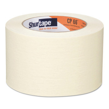 Shurtape Contractor Grade High Adhesion Masking Tapes CP66, 72 mm x 55 m (16 CA/EA)