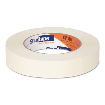 Shurtape Contractor Grade High Adhesion Masking Tapes CP66, 24 mm x 55 m (36 CA/EA)