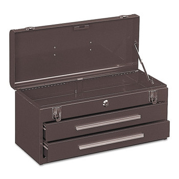 Kennedy Portable Tool Chests, 20 1/8 in x 8 5/8 in x 9 3/4 in, 1293 cu in, Brown (1 EA/EA)