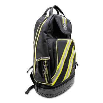 Klein Tools Tradesman Pro High Visibility Backpacks, 39 Compartments, 20 in x 7 in (1 EA/EA)