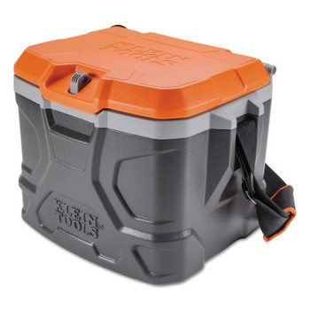 Klein Tools Tradesman Pro Tough Box Cooler, 17 qt, Gray (1 EA/EA)
