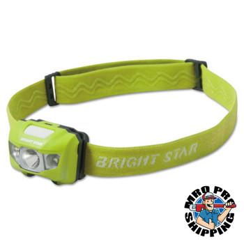 Bright Star VISION LED Headlamps, 3 AAA, 185 lumens, Green (6 EA/EA)