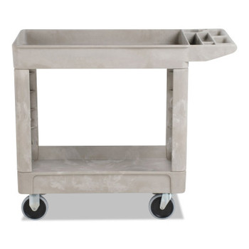 RUBBERMAID COMMERCIAL PROD. Heavy-Duty Utility Carts, 500 lb, 39 x 17.88 x 33.25, Beige (1 EA/EA)