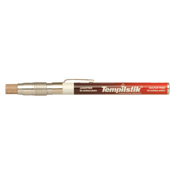 Markal Tempilstik Temperature Indicator Sticks, 250 Deg F, 0.625 in (10 CA/EA)