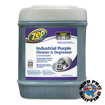 Zep Inc. Commercial Purple Cleaner and Degreaser Concentrates, 5 gal Pail, Fresh Scent (1 EA/EA)