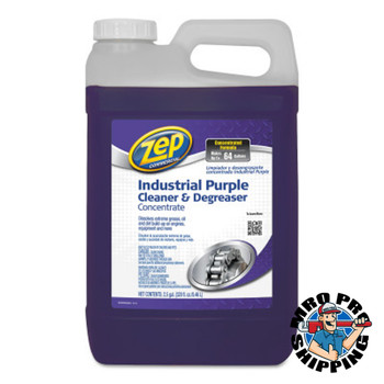 Zep Inc. Commercial Purple Cleaner and Degreaser Concentrates, 2.5 gal Pail, Fresh Scent (1 PA/EA)