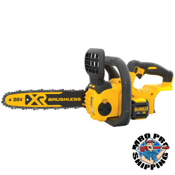 DeWalt XR Compact Cordless Chainsaws, 12 in, Trigger Switch, 25.2 ft/s (1 EA/EA)