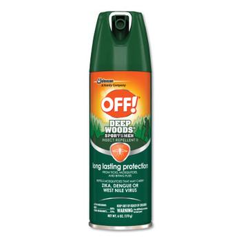 Diversey OFF! Deep Woods Insect Repellents, 6 oz Aerosol (12 CT/EA)