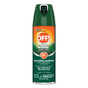 Diversey OFF! Deep Woods Insect Repellents, 6 oz Aerosol (12 CT/EA)