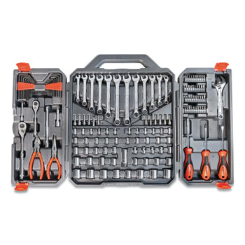 Apex Tool Group 1/4 in and 3/8 in Drive 6-Pt SAE/Metric Professional Tool Set, 150 Piece