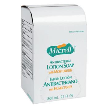 Gojo MICRELL Antibacterial Lotion Soap, Amber, NXT 2000 ml Refill (4 CA/EA)