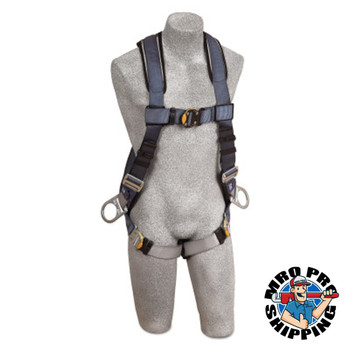 Capital Safety ExoFit XP Vest-Style Positioning Harnesses, Back/Side D-Rings, Large, Q.C. (1 EA/EA)