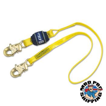 Capital Safety EZ Stop Shock Absorbing Lanyards, 6 ft, Self-Locking Snap Hook, 310 lb (1 EA/EA)